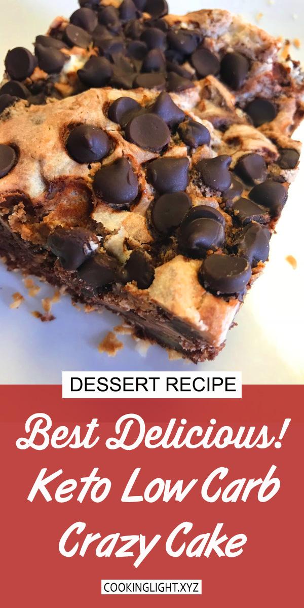 Keto Low Carb Crazy Cake Recipe   Cake Recipes Easy, Cake Recipes Healthy, Cake Recipes Keto, Cake Recipes Gluten Free, Cake Recipes Sugar Free, Cake Recipes Low Carb #lowcarb #lowcarbcake #cake #ketochocolate #ketocake #cakerecipe #keto #ketodiet #ketogenic