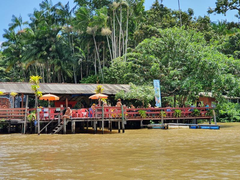 Ilha do Combu melhor restaurante