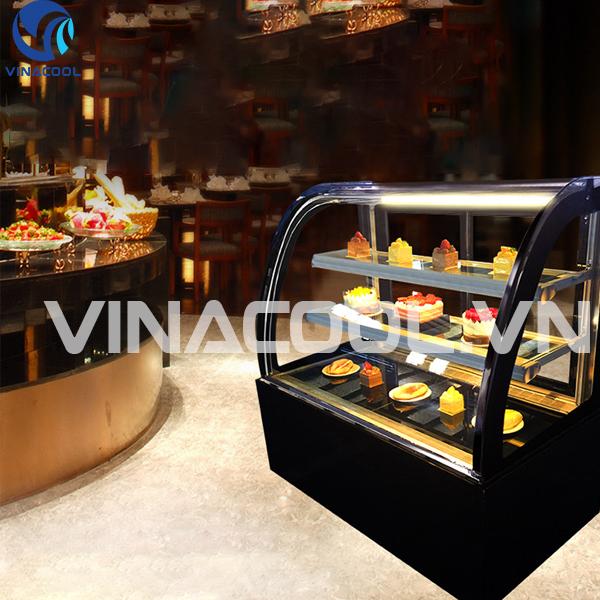 tủ trưng bày bánh ngọt mini để bàn