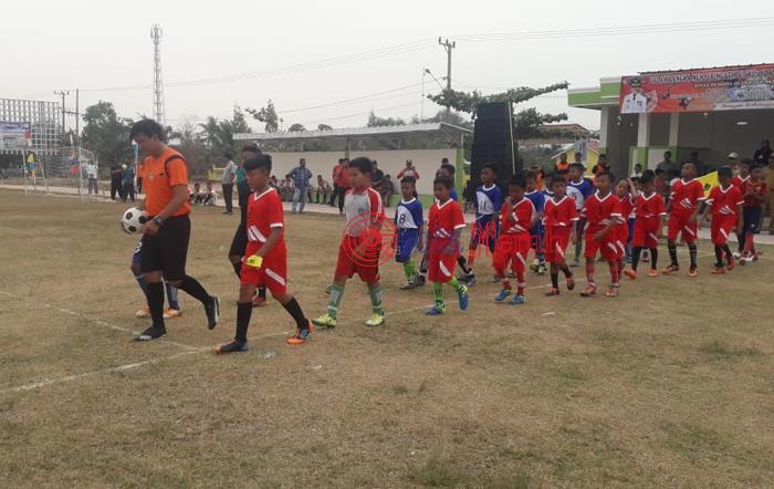 Meriahkan HUT Mesuji, Kompetisi Sepak Bola Bupati Cup ke-8 Di Gelar