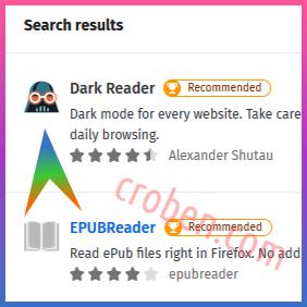 Croben.com Dark Mode Websites Step 4