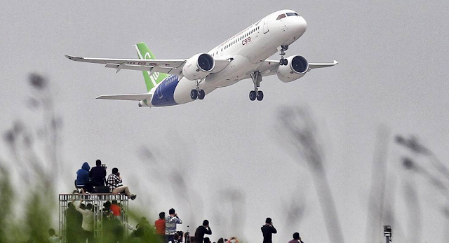 Dalam 20 Tahun Ke Depan Maskapai Penerbangan China Butuh 6.810 Pesawat Baru