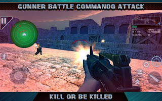 Gunner Battle Commando Attack Apk v5.42 Mod