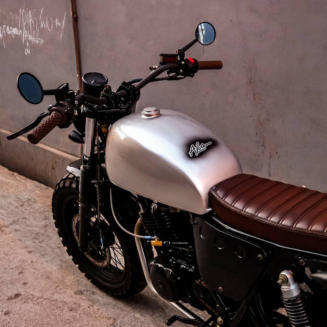 Kreatifitas tak Berbatas - Suzuki Thunder GN250 Tracker