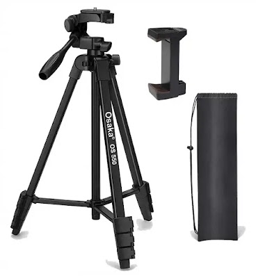Osaka OS 550 55 Inches DSLR Tripod with Mobile Holder | Best Tripod for DSLR and Mobile in India | Best Tripod Reviews
