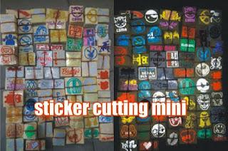 sticker cutting mini