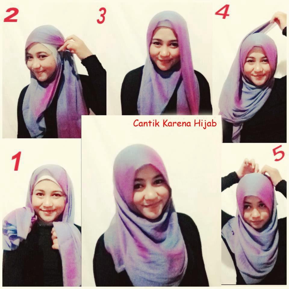 Tutorial Hijab Segi Empat Ala Ivan Gunawan Tutorial Hijab Paling