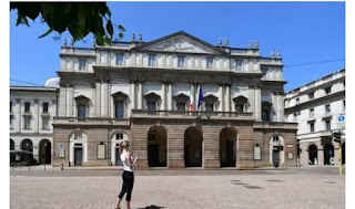 Milan's La Scala theatre in Italy reopens next week after a four month shutdown