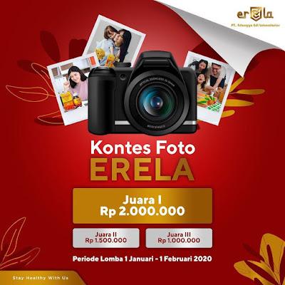 Kontes Foto Erela Berhadiah Uang Total 4,5 Juta