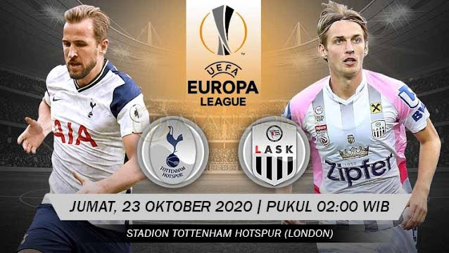 Prediksi Tottenham Hotspur Vs LASK Linz, Jumat 23 Oktober 2020 Pukul 02.00 WIB