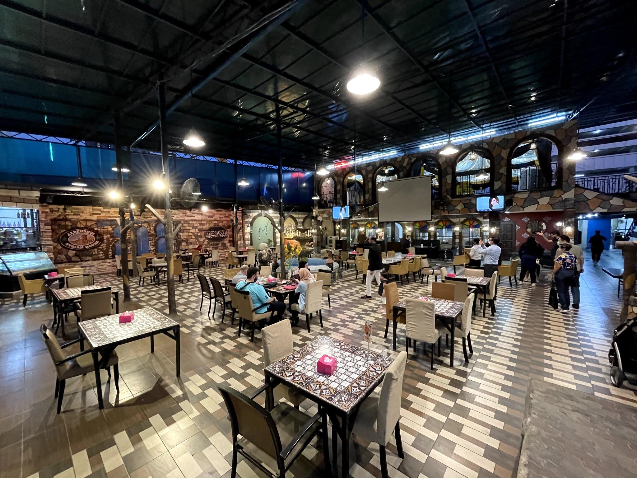 MAKAN MALAM DI SYRIAN HOUSE RESTAURANT MALAYSIA KAMPUNG BARU مطعم البيت السوري ماليزيا
