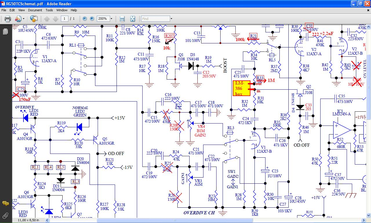 Randall Rh50 Tube Amp Mod border=