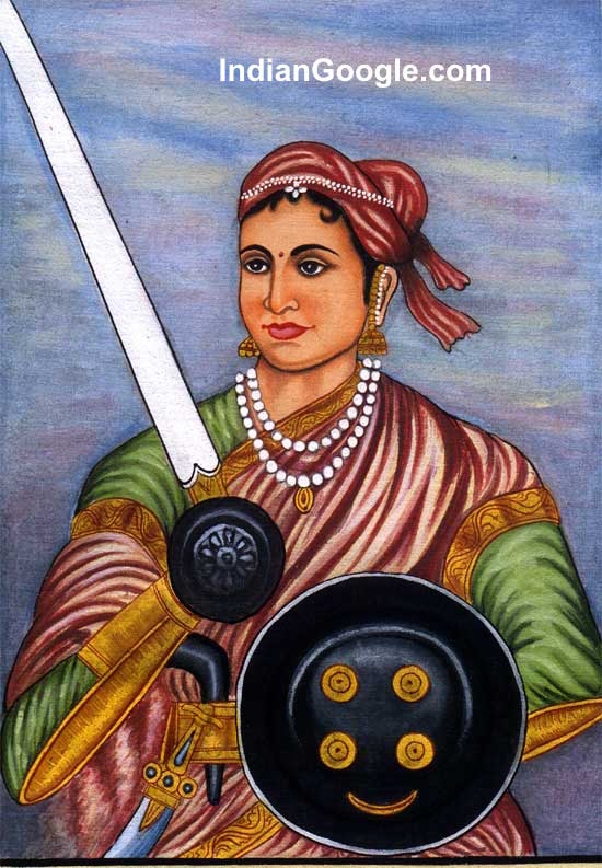 maharani lakshmi bai in hindi