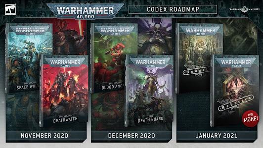 próximos códex Warhammer 40,000