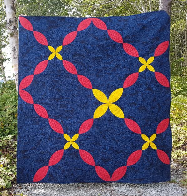 Flower Path quilt pattern | DevotedQuilter.com