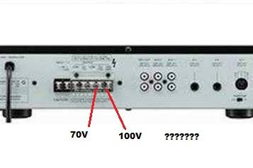 Inilah Fungsi Output 100v pada Amplifier TOA