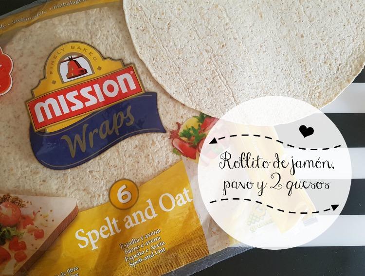 receta tortita trigo jamon queso