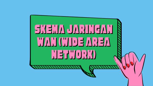 Skema Jaringan WAN (Wide Area Network)