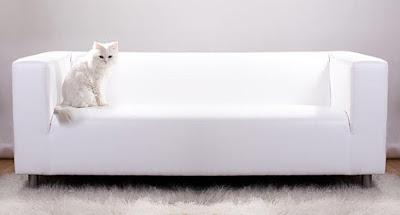 blog Achados de Decoração. Tecido para sofá resistente à unha dos gatos