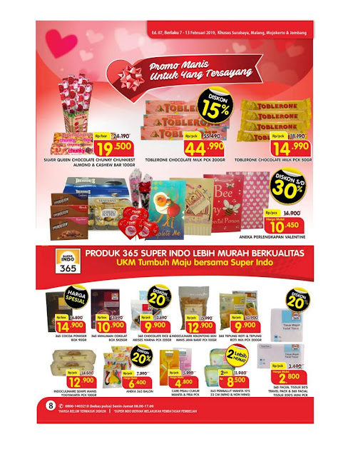 Katalog Super Hemat Super Indo Surabaya, Malang, Mojokerto dan Jombang 7 Februari sampai 13 Februari 2019