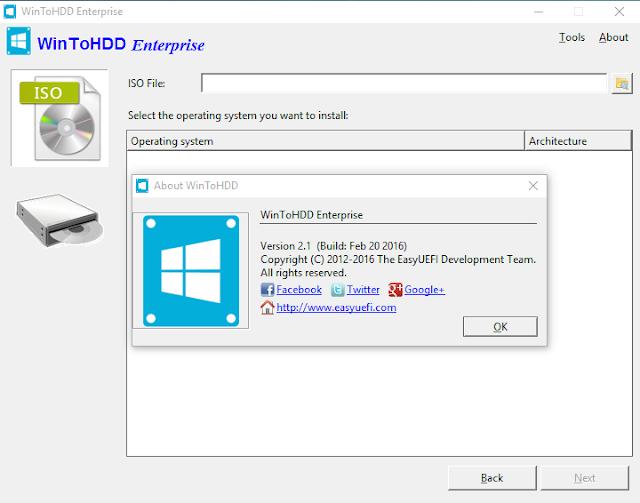 WinToHDD Enterprise 2 Latest Crack