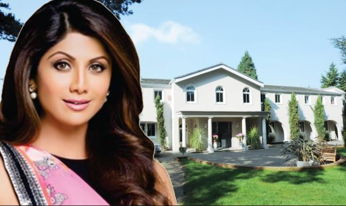 shilpa shetty house inside