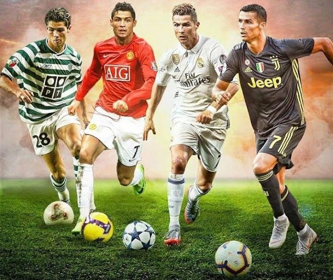 Cristiano Ronaldo bersama klubnya