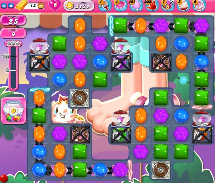 Candy Crush Saga level 2106