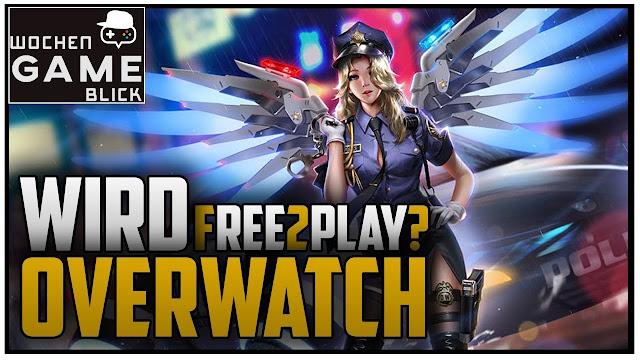 Rumor: Overwatch podría ser Free2Play muy pronto.