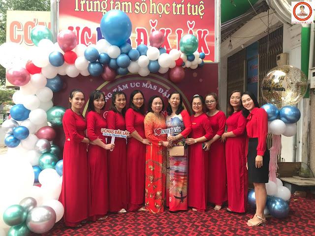 Đội ngũ giáo viên giảng dạy môn Toán tư duy tại UCMAS Đắk Lắk