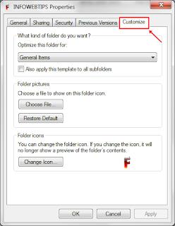 Cara Mengubah Gambar atau Icon Folder Komputer