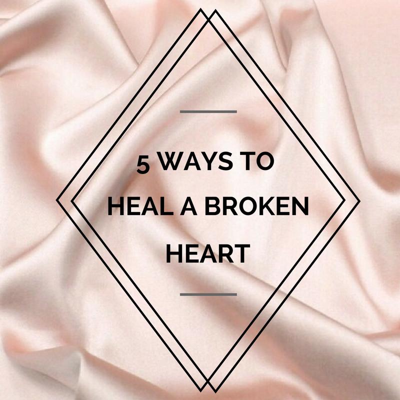 5 ways heal broken heart