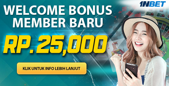 welcome bonus 25ribu