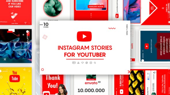 VIDEOHIVE INSTAGRAM STORIES FOR YOUTUBER