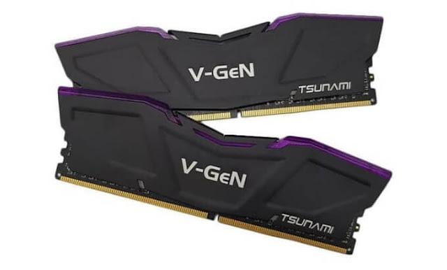 RAM V-GeN Tsunami DDR4 8GB (2x4GB)