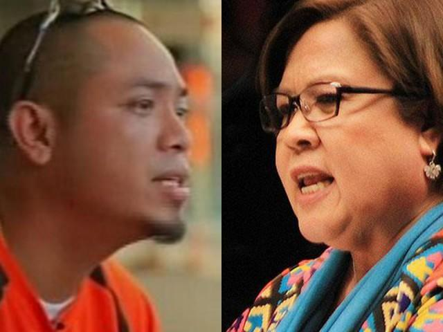De Lima Takes The Side Of Inmate Jaybee Sebastian Saying He Is An Asset Of The Government!