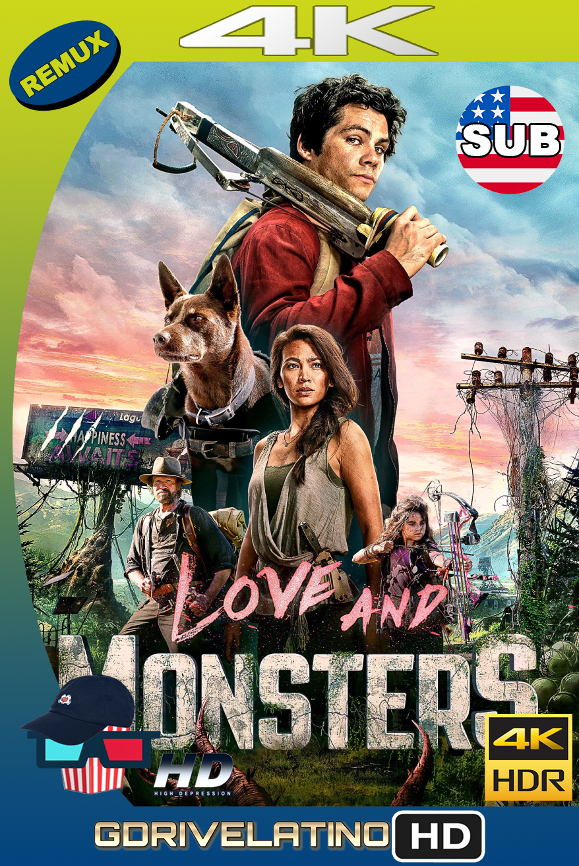 Love and Monsters (2020) BDRemux FULL 4K HDR SUBTITULADO MKV