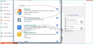 Cara tambahkan situs yang masih Blogspot ke Adsense