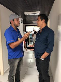 Programa a voz do povo, da Nordeste FM faz cobertura com exclusividade da reunião para escolha dos números dos candidatos ao cargo de conselheiros tutelares da cidade de Guarabira.