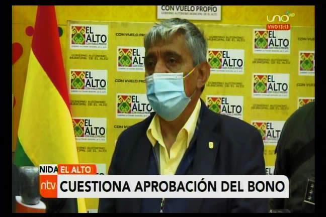Arias: Es paradójico que después de matar de hambre con los bloqueos saquen un bono contra el hambre