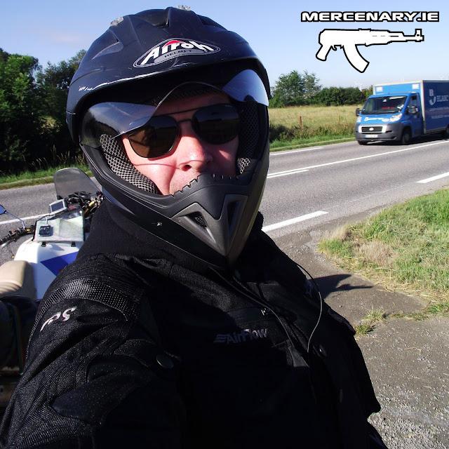 Mercenary Garage Africa Twin - The Trip Home