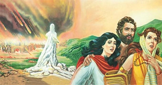 Por que Deus transformou a esposa de Ló em uma estátua de sal?