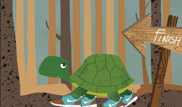 Slow and Steady Wins the Race - Lesson Story Free Download