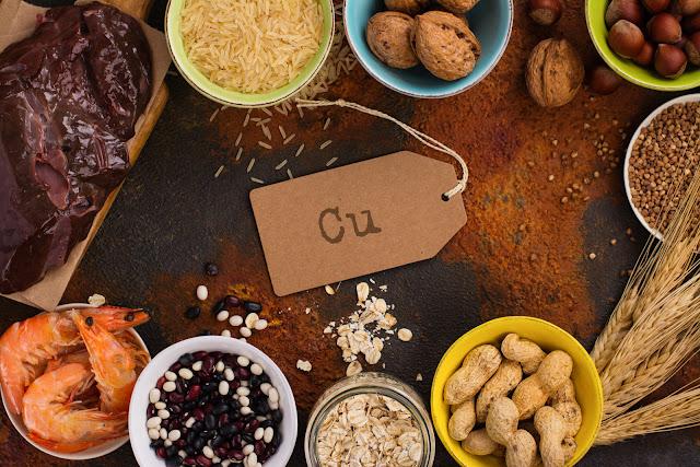 Aliments riches en cuivre, signes de carence et avantages pour la santé