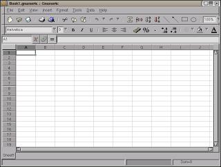 G Numeric, salah satu Software Spreadsheet yang beredar di masyarakat