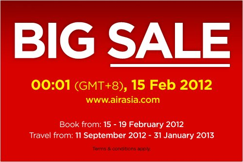 Big Sale AirAsia