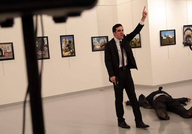 معلومات جديدة تكشف عن هوية منفذ الهجوم على السفير الروسي بتركيا