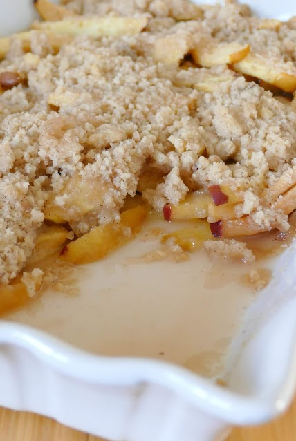 This delicious and easy fall apple dessert has been passed down through the family and is such a favorite! Great with any type of apple, this recipe is great for Thanksgiving, Sunday dinner or any occasion.