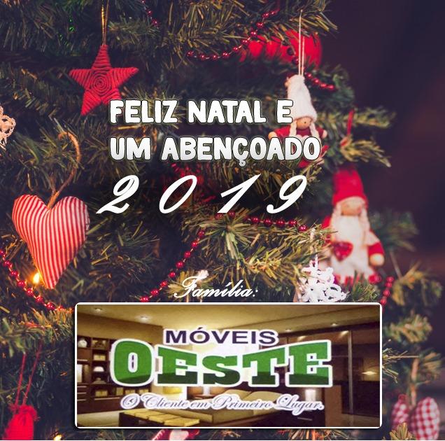 Móveis Oeste deseja a todos um Feliz Natal!!
