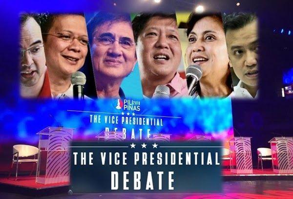 Philippines Vice Presidential Debate April 17 2016
